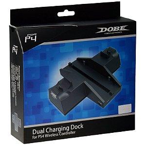 Base Suporte Carregador Ps4 Dualshock Dual Charging Dock Station Sony Playstation 4