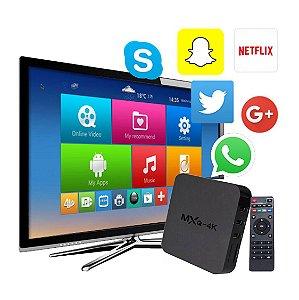 Android 6.0.1 Tv Box Ott MXQ 4k 2K Quad Core Smart Tv Wifi Usb