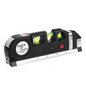 Nível Trena Cruz Prumo Laser Horizontal Vertical Lv03
