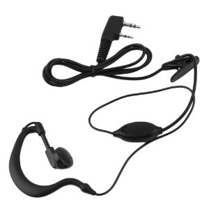 Kit 15 Fones de Ouvido Arco P1 e P2 com Microfone para Walkie Talkie