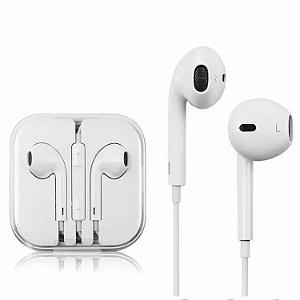 Fone de Ouvido - Earpods - Iphone Estilo Apple 4 4s 5 5s 6 6s