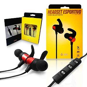 Fone de  Ouvido sem fio - Bluetooth 4.1 Universal Esportivo