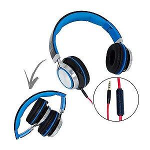 Fone De Ouvido Hipermúsica Headset P2 Hm-750mv