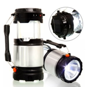 Lanterna + Lampião Recarregavel