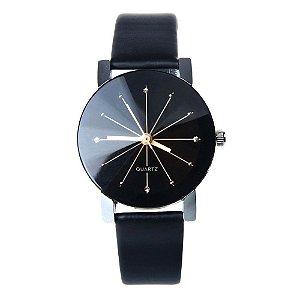 c887e4f7903 Relógio Quartz Preto