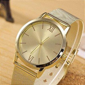 3c6ace68594 Relógio Feminino cor Ouro