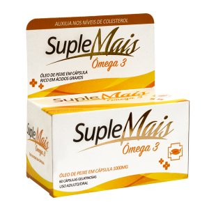 SUPLEMAIS OMEGA 3 60CPR