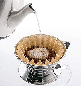 Porta Filtro de Café Kalita Wave Aço Inox 185