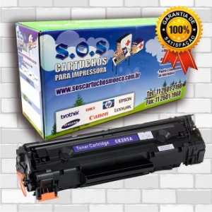 Toner Compatível HP CE285A (100% NOVO)