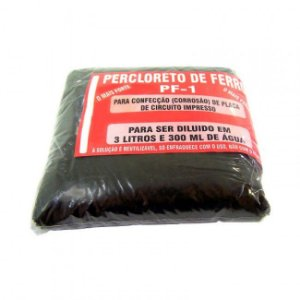 Percloreto de Ferro p/ 3L e 300 ml
