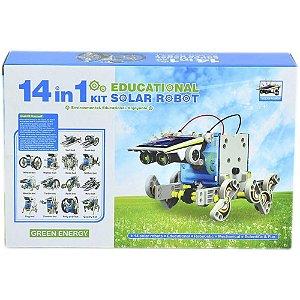 Kit Robô Solar 14 em 1