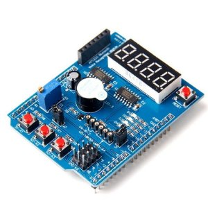 Shield Multifunções para Arduino - Ideal para Aprendizagem