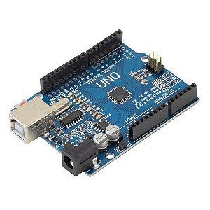 Uno R3 SMD CH340 + Cabo Usb para Arduino