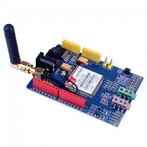 Arduino Shield - GSM / GPRS SIM900 Com Antena Quad Band