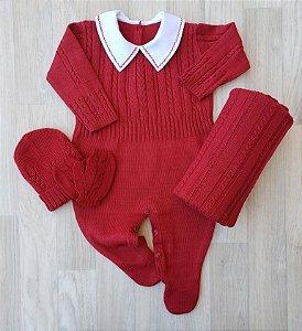 Macacão Maternidade - Guilherme Vermelho (Somente macacão)