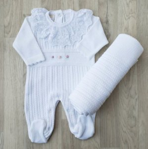 Saída Maternidade Tricot - Mariana Branco