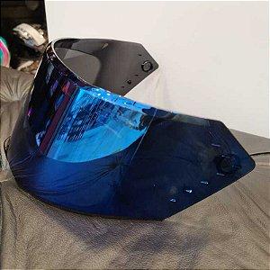 Viseira Original Iridium em policarbonato antirrisco para o capacete Bieffe B-12
