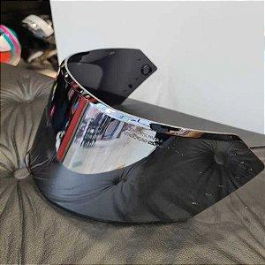 Viseira Original Metalizada em policarbonato antirrisco para o capacete Bieffe B-12