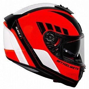 Capacete MT SV Blade 2 Plus Orange (Com viseira Solar)