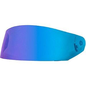 Viseira de capacete Norisk Ff391/Ff389/Ff369 Iridium Azul  Original