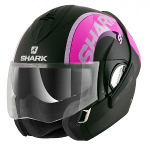 CAPACETE SHARK EVOLINE SERIE 3 DROP DUAL TOUCH KVS