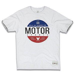 Camiseta Motor Lab - Branco