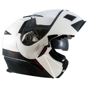 CAPACETE  3020 SOLID WHITE/AB11 ADVENTURE  BLACK