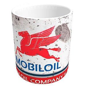 Caneca lata de óleo MOBILOIL