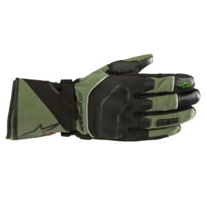 Luva Alpinestar Andes Touring Outdry Verde Militar