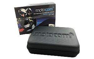 Intercomunicador Bluetooth Para Capacetes Motocom - Prime Estéreo - 2 Unidades