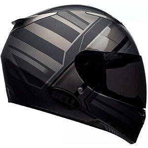 Capacete Bell Rs-2 Tactical Matte Black Titanium C/ Viseira Solar
