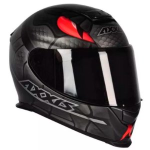 Capacete Axxis Eagle Snake Preto