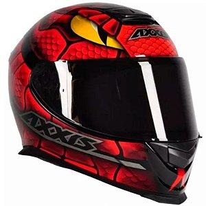 Capacete Axxis Eagle Snake Vermelho