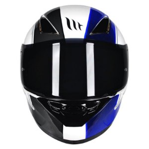 Capacete Mt Revenge Black-White-Blue