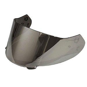 Viseira X11 Original para Capacete Revo - Prata Cromada 2mm