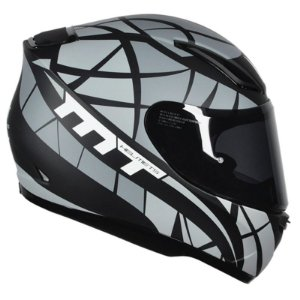 Capacete Mt Revenge Speeding Matt Black-Grey