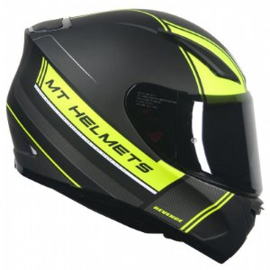 Capacete Mt Revenge Naked Matt Yellow