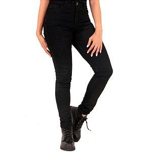 Calça Feminina Riding Jeans Skinny Black