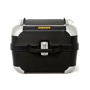 Baú de moto Circuit Smart 28 Litros - Preto