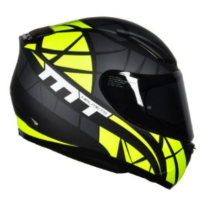 Capacete Mt Revenge Speeding Matt Black/Yellow
