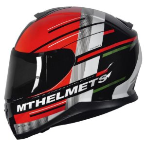 Capacete Mt Thunder3 Pitlane Red/Green
