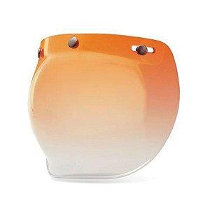 Viseira Capacete Bell Custom 500 Bubble Ambar Gradiente Original
