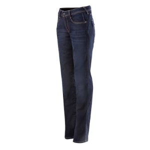 CALÇA ALPINESTARS STELLA ANGELES DENIM FEMININA AZUL RINSE PLUS