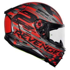 Capacete Mt Revenge 2 Baye Matt Red