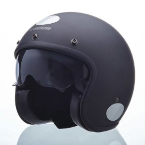 Capacete Lucca Sublime Black Out (c/ viseira Bubble Cristal)