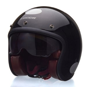 Capacete Lucca Sublime Glossy Black