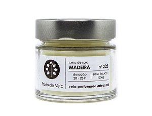 Vela Perfumada Pavio de Vela: Madeira No.202 - 145g