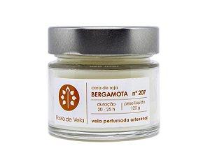 Vela Perfumada Pavio de Vela: Bergamota No.207 - 145g