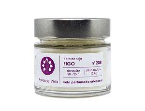 Vela Perfumada Pavio de Vela: Figo No.208 - 145g