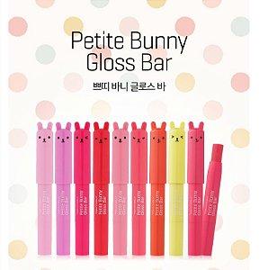 "Batom Hidratante ""Petite Bunny Gloss Bar""No.04 Juicy Cherry da TONYMOLY"